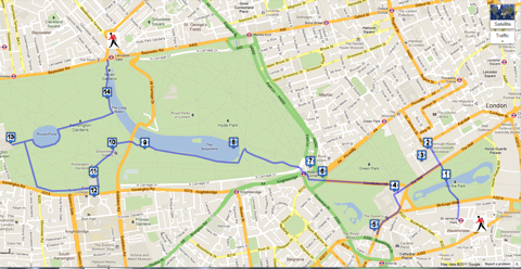 royal london walk map