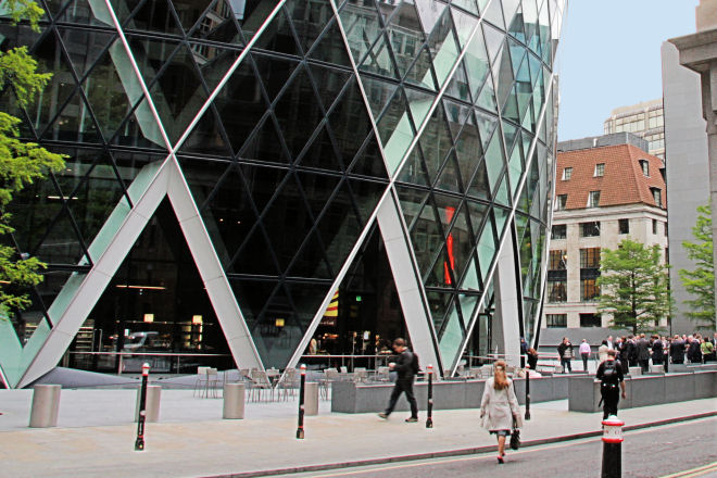 entrance to gherkin
