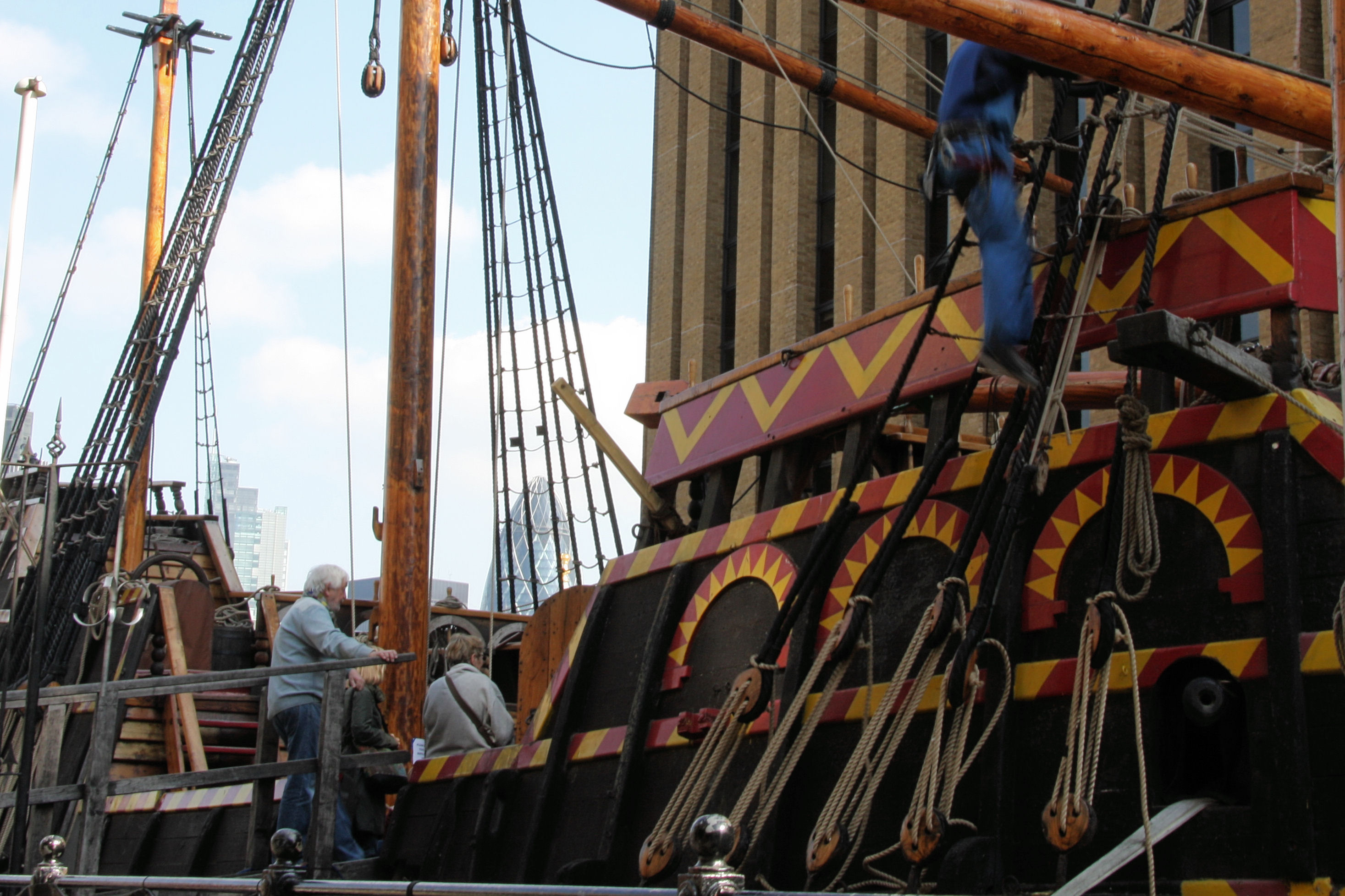 golden hinde entrance