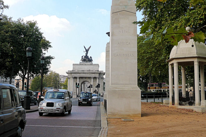 constitution hill and memorial gate