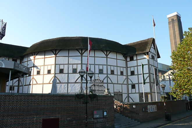 replica of the original globe